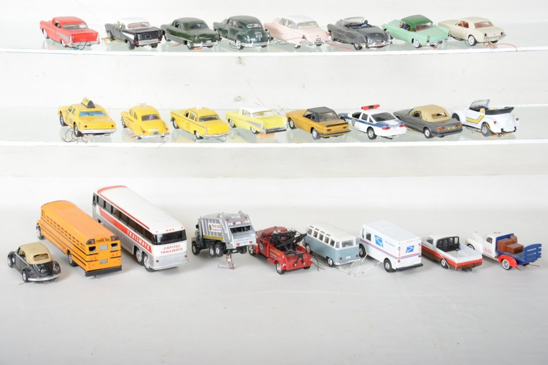 30+ Ron Zweig Layout Vehicles, Custom Lighted - 6
