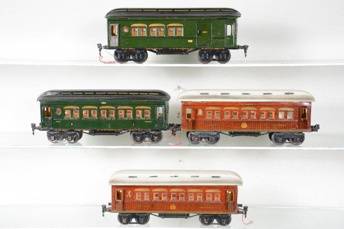 4 Matching Marklin Passenger Cars - 2