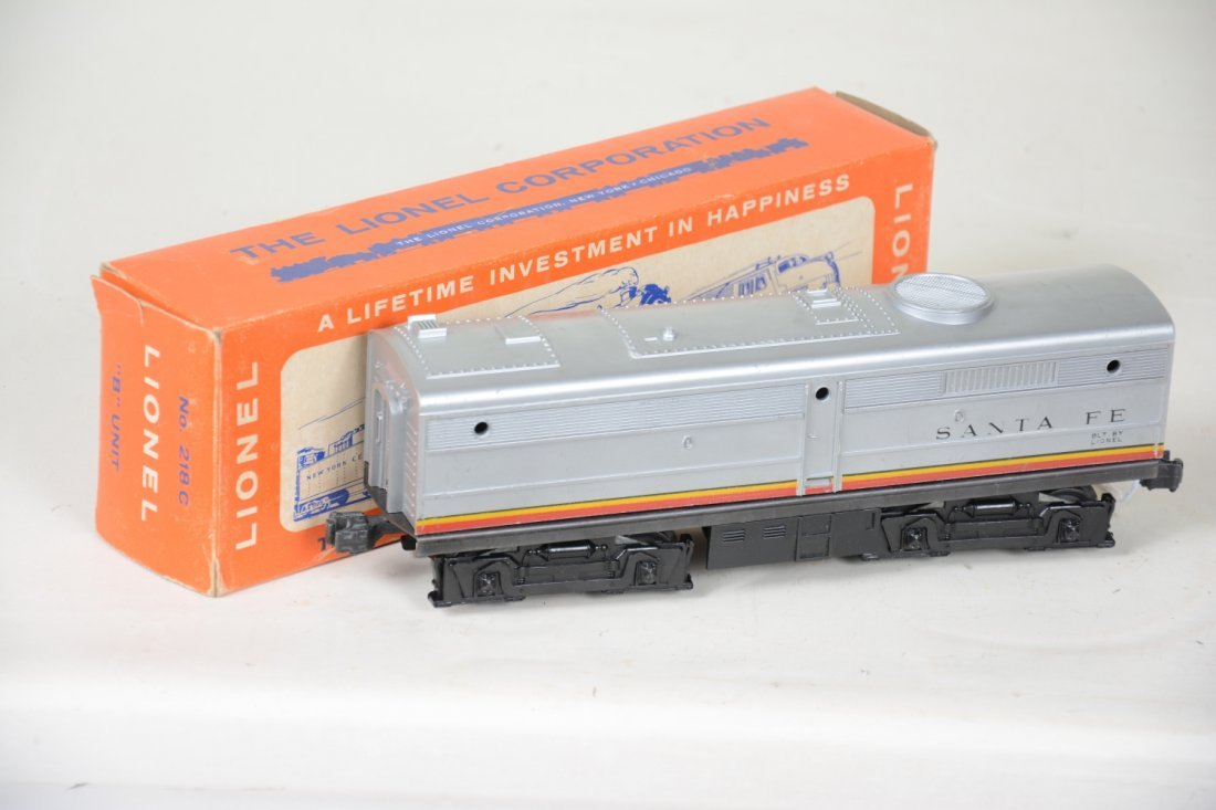 Boxed Lionel 218C SF B-Unit