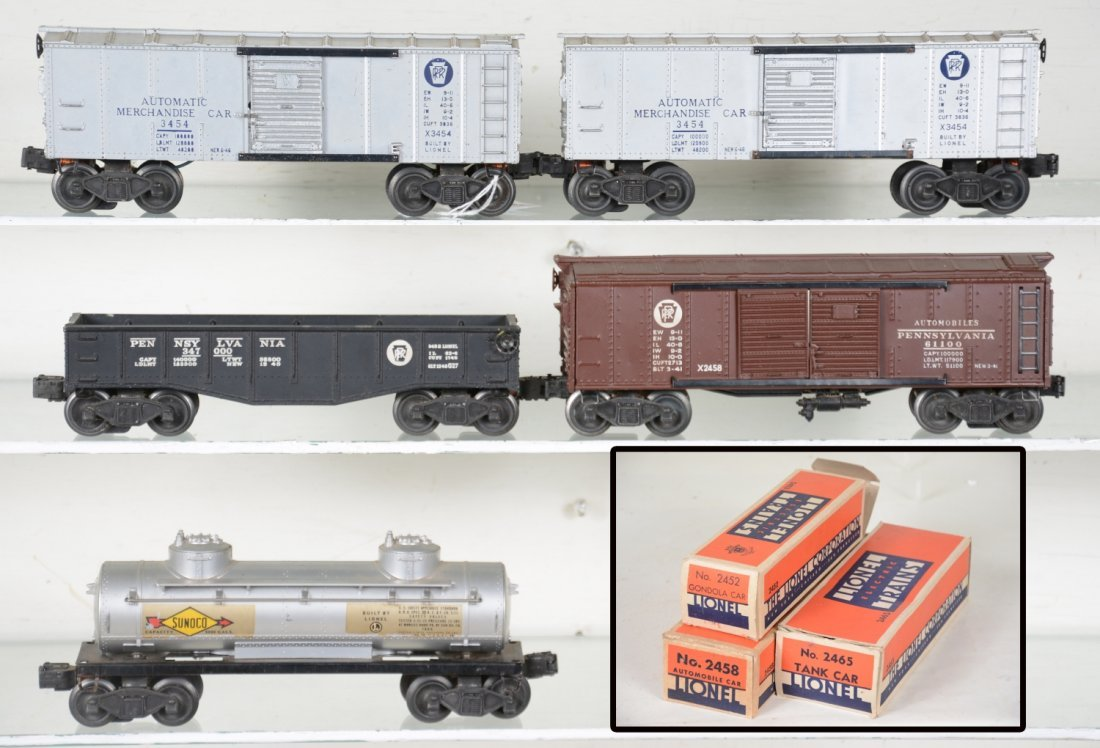 Early Lionel Freight Cars