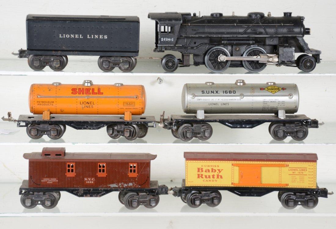 Lionel 1684 Steam Freight Set
