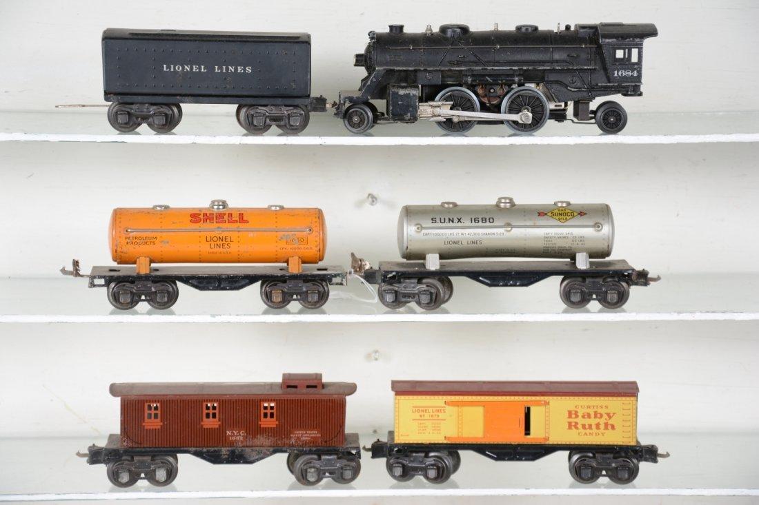 Lionel 1684 Steam Freight Set - 2