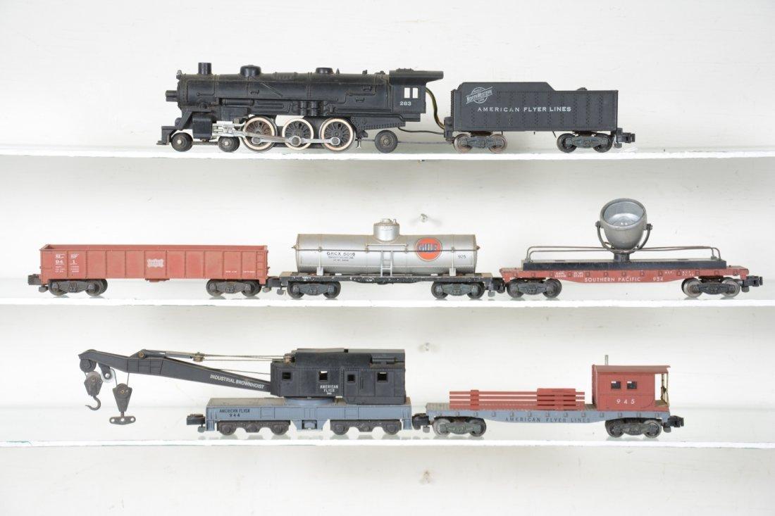 American Flyer 283 Steam Work Train Set