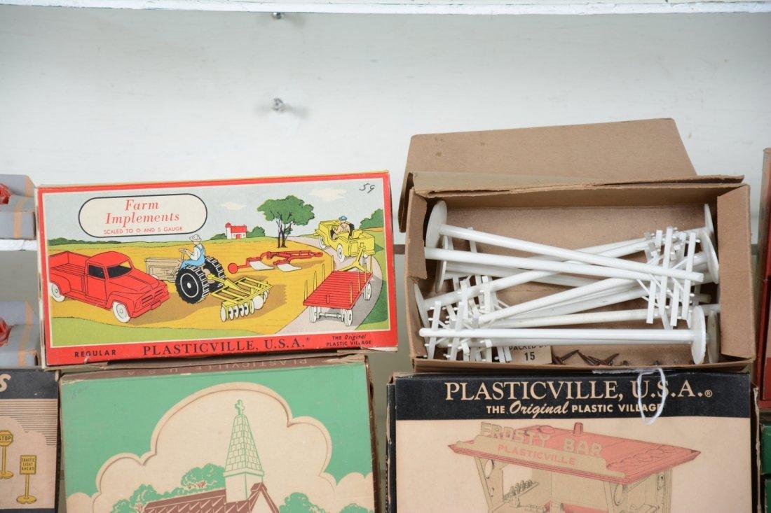 Boxed Plasticville Lot, Plus - 2