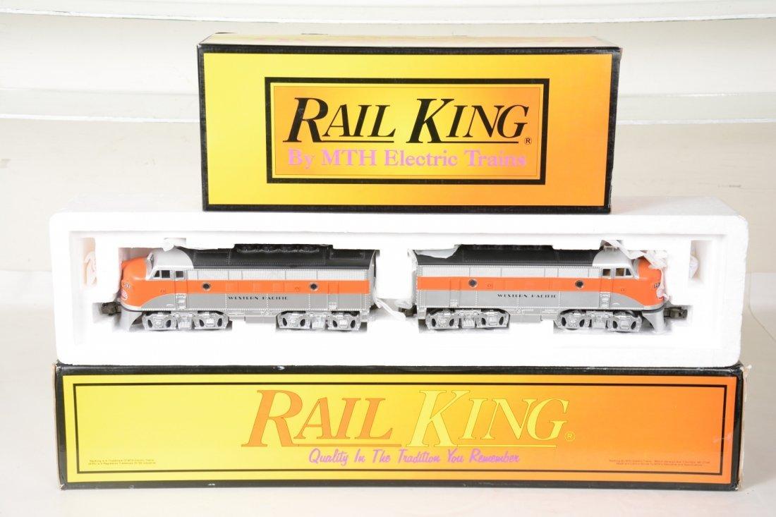 MTH RailKing RK2008/2015 WP F3 ABA Diesels