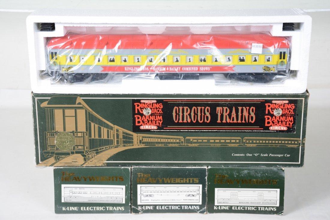 K-Line Ringling Bros Circus Heavyweights