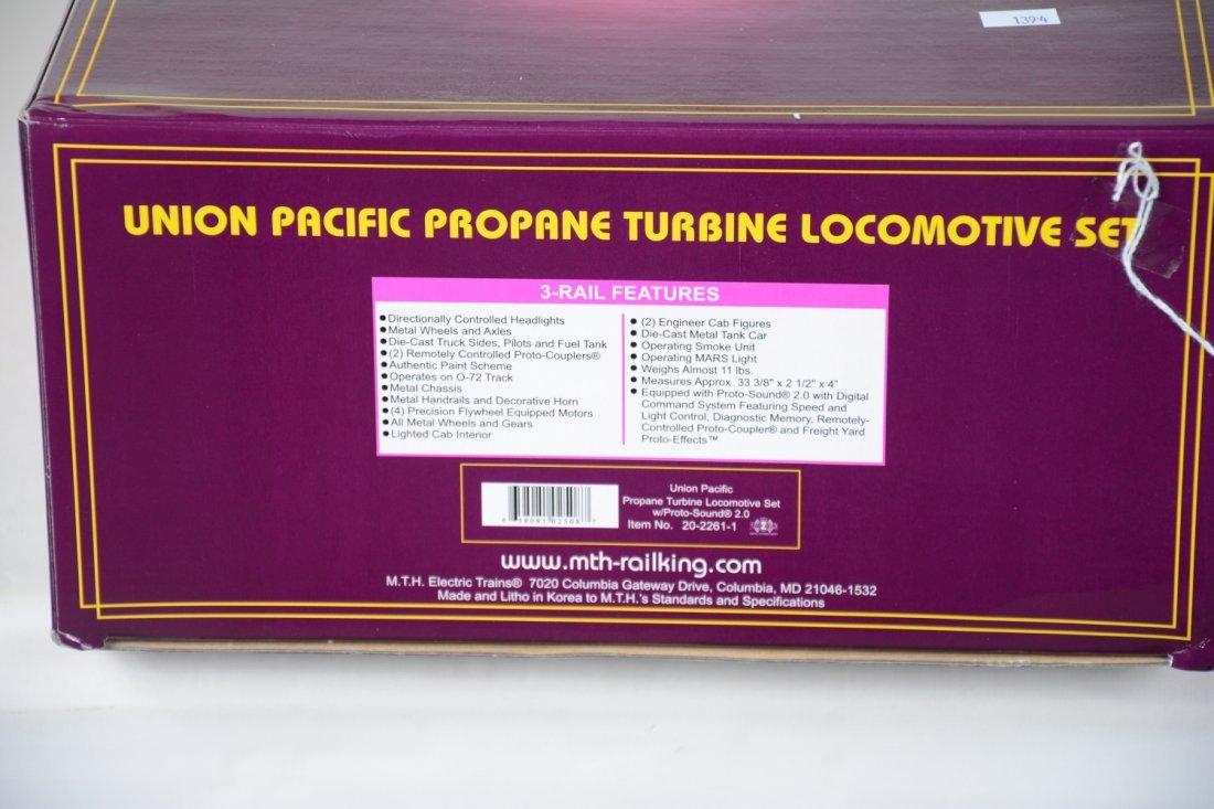 MTH Premier 20-2261-1 UP Propane Turbine Set - 3
