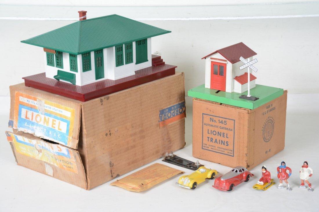 Boxed Lionel Accessories, Plus