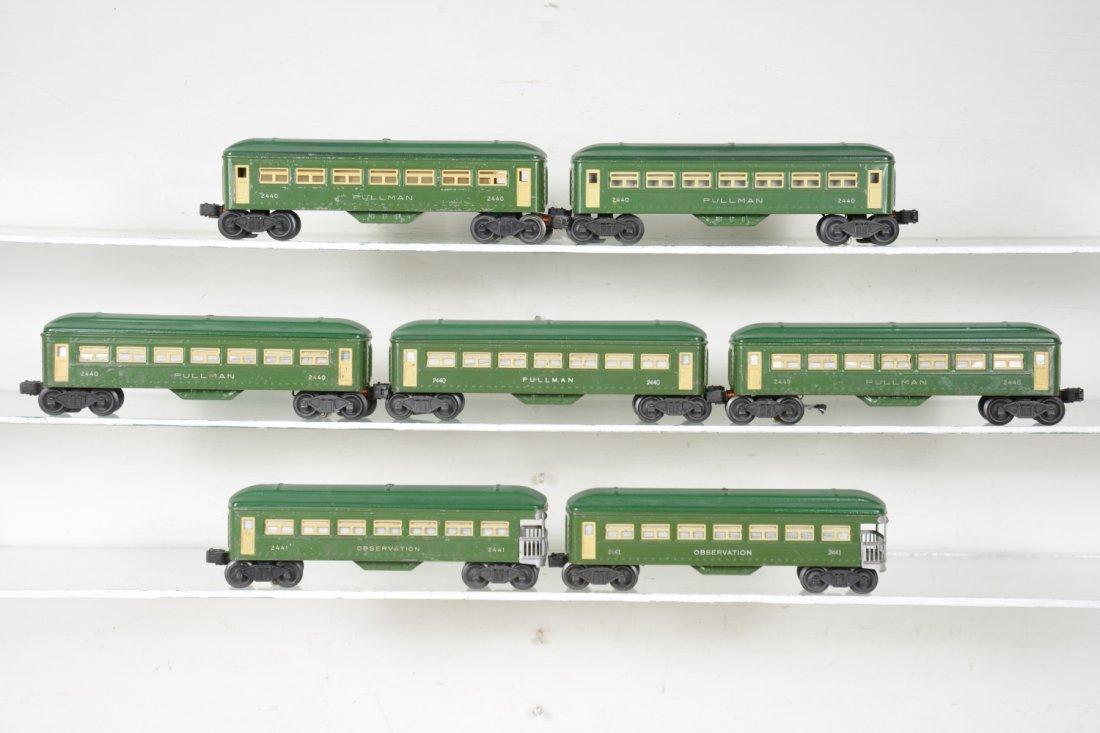 7 Lionel 2440 Series Passenger Cars