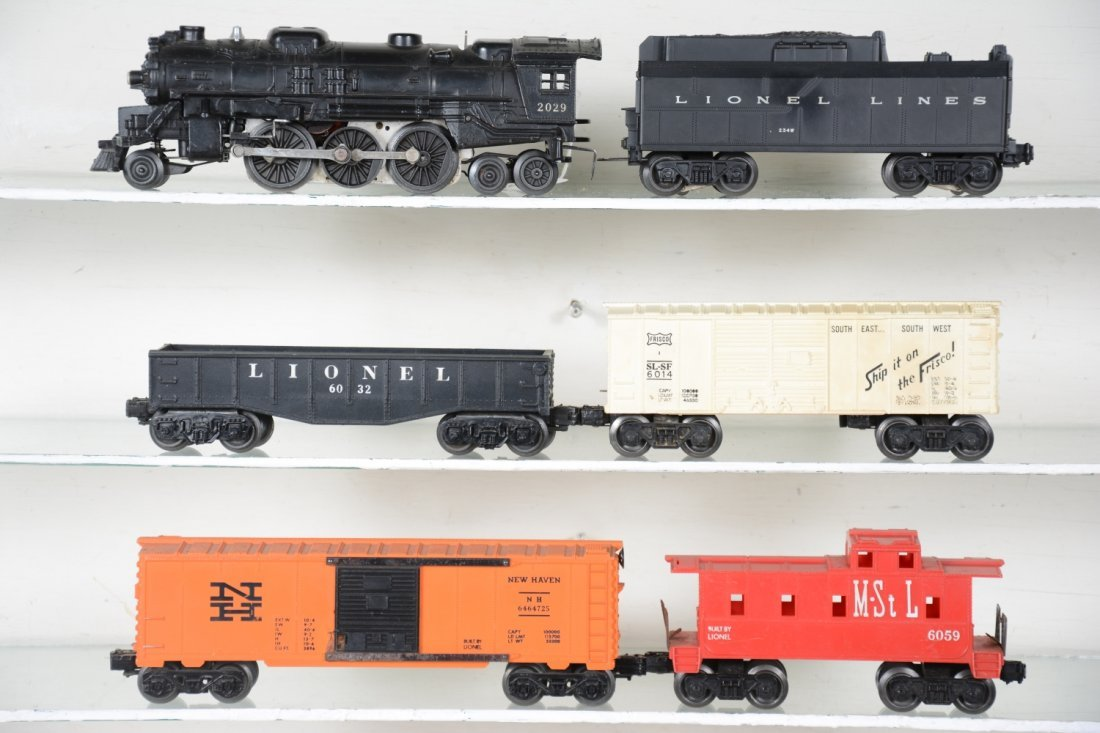 Lionel 2029 Steam Freight Set