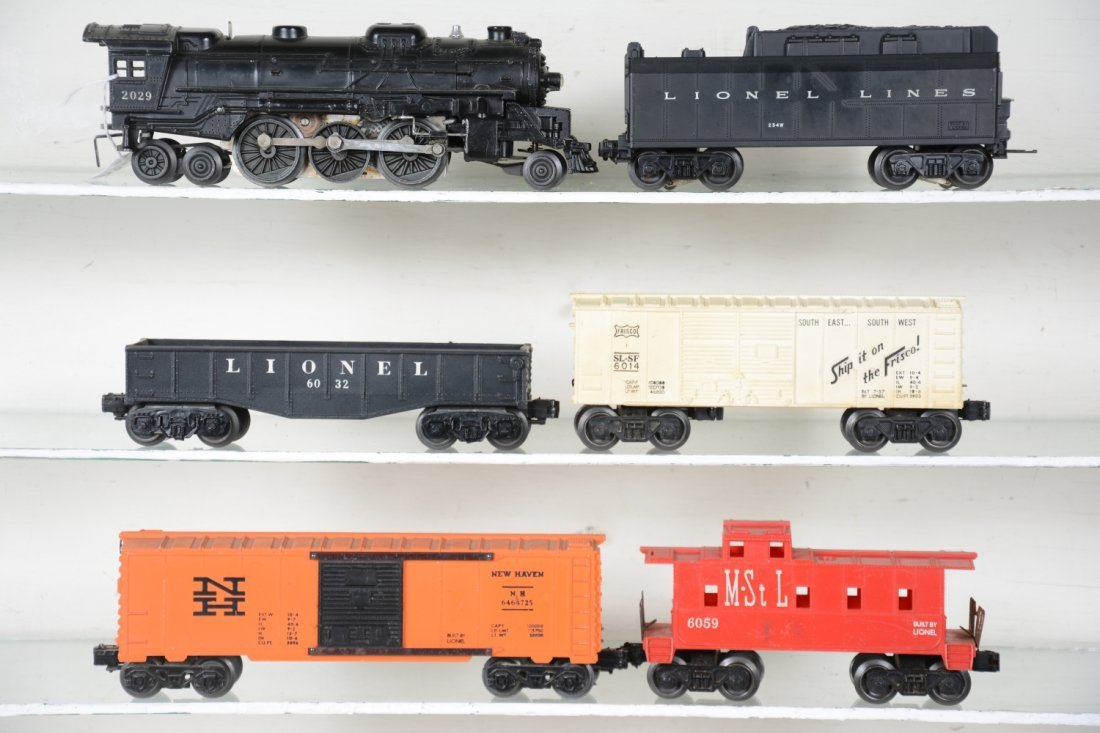 Lionel 2029 Steam Freight Set - 2