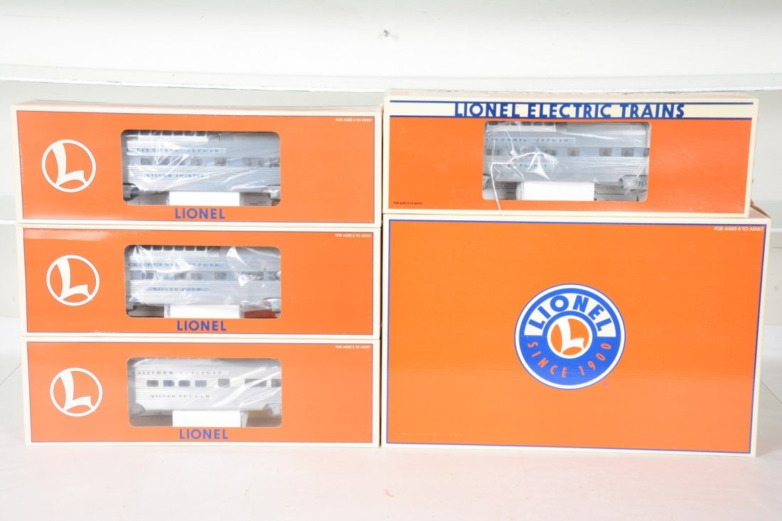 Lionel WP Streamline Passenger Cars