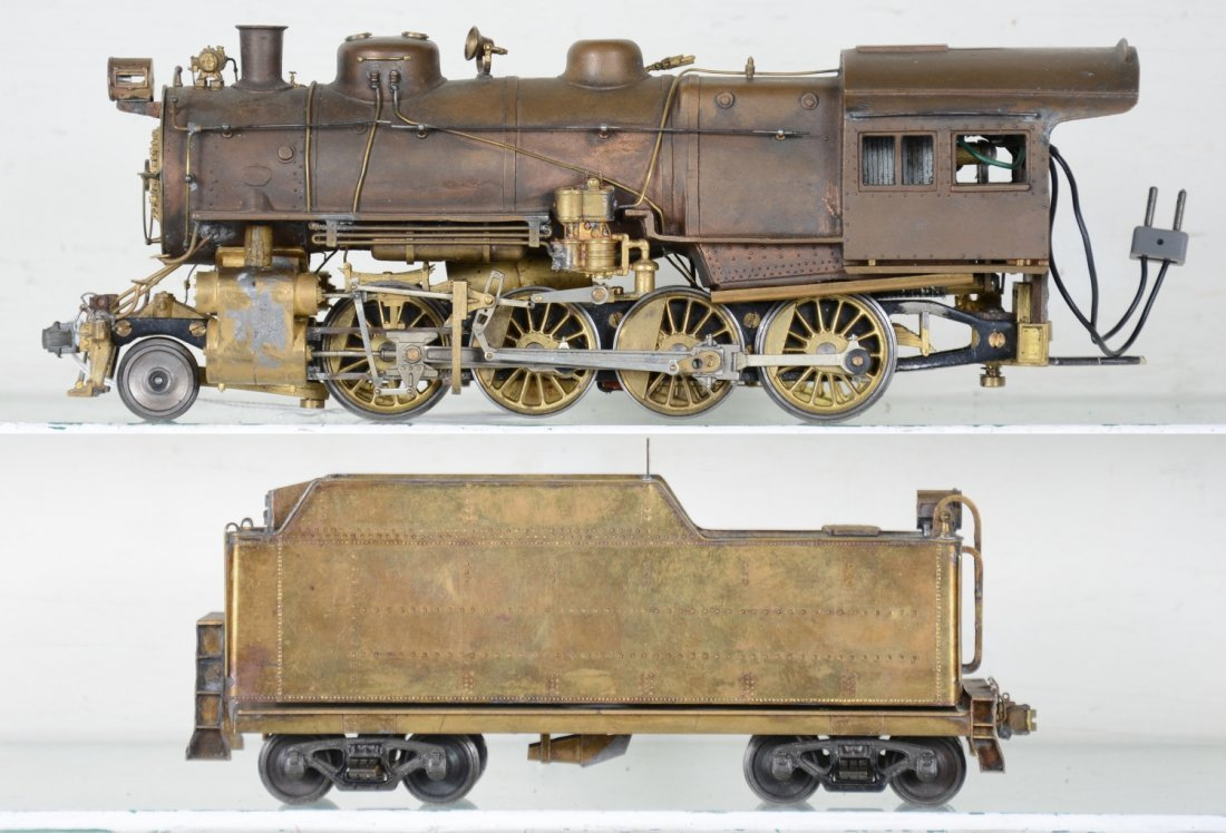 Brass O Scale 2-Rail Mogul