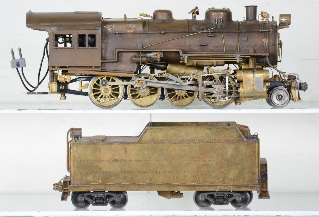 Brass O Scale 2-Rail Mogul - 2