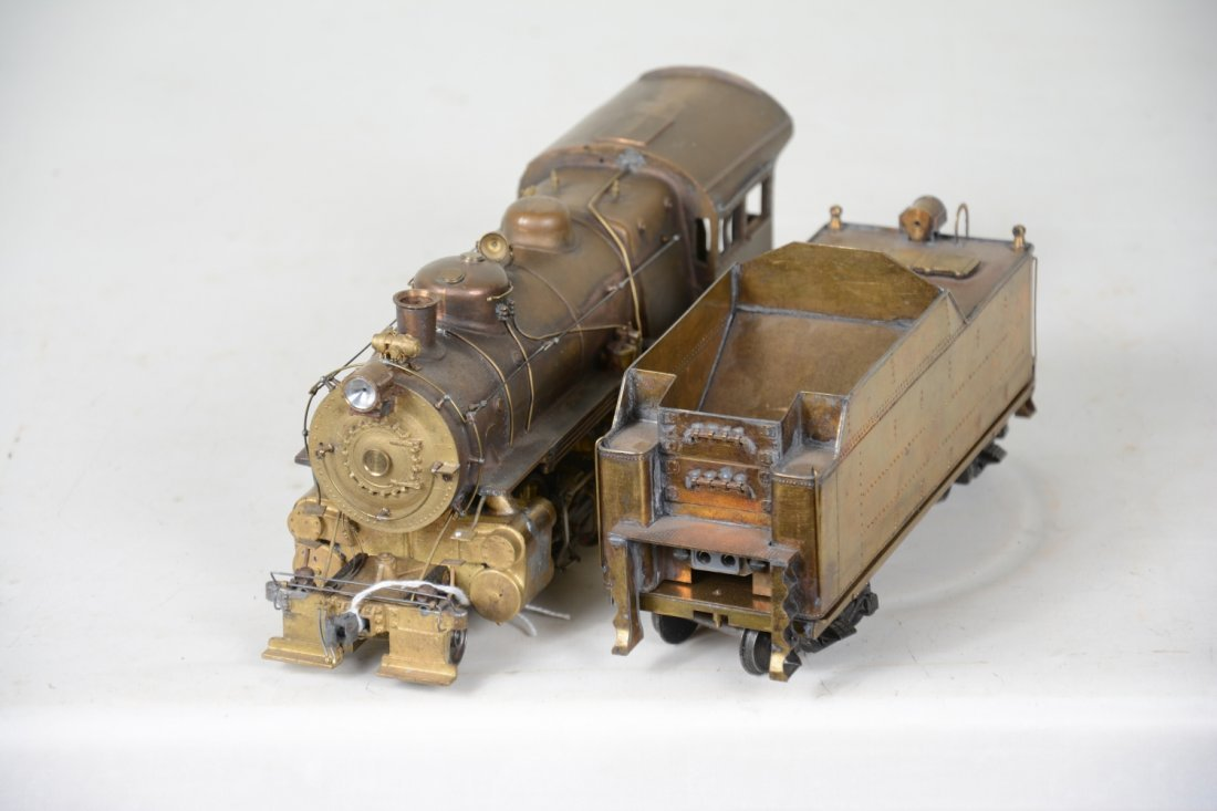 Brass O Scale 2-Rail Mogul - 3