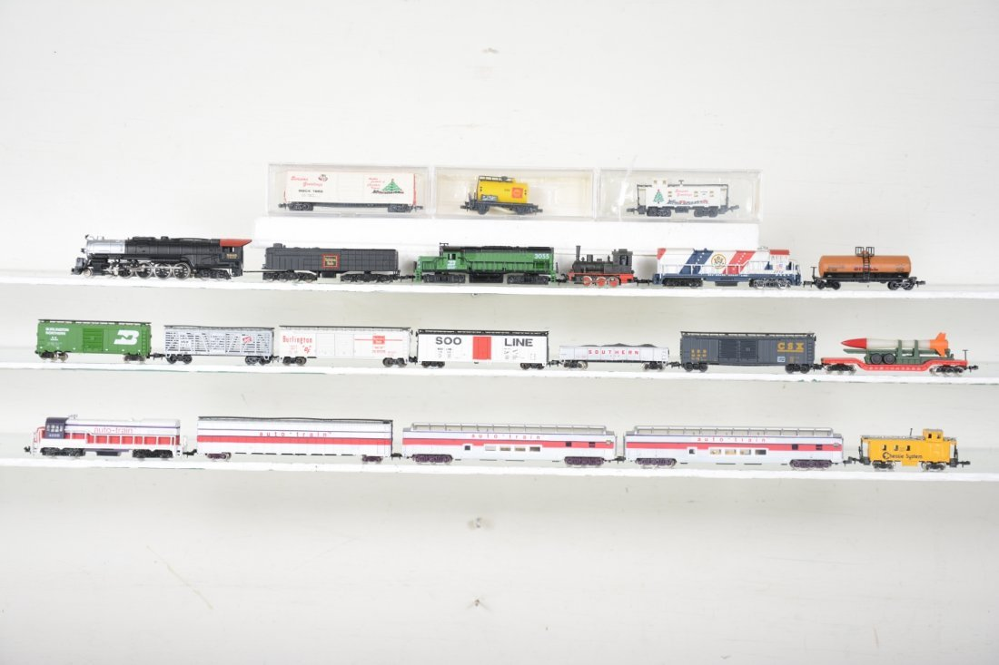 N Gauge Mid-Country Trains Lot