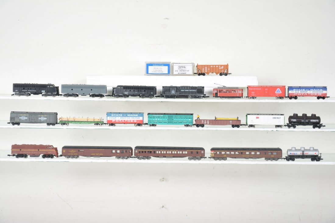 N Gauge Northeast Trains Lot - 2