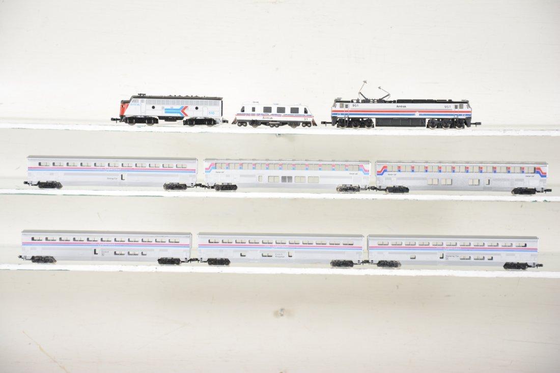 N Gauge Amtrak Lot