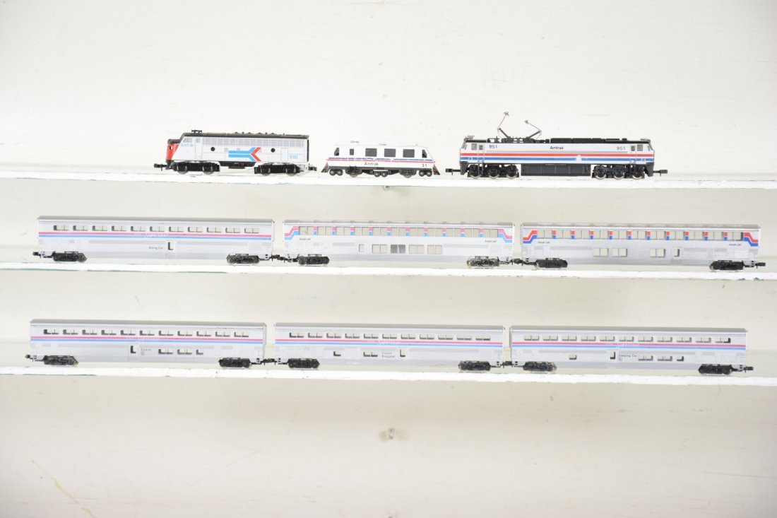 N Gauge Amtrak Lot