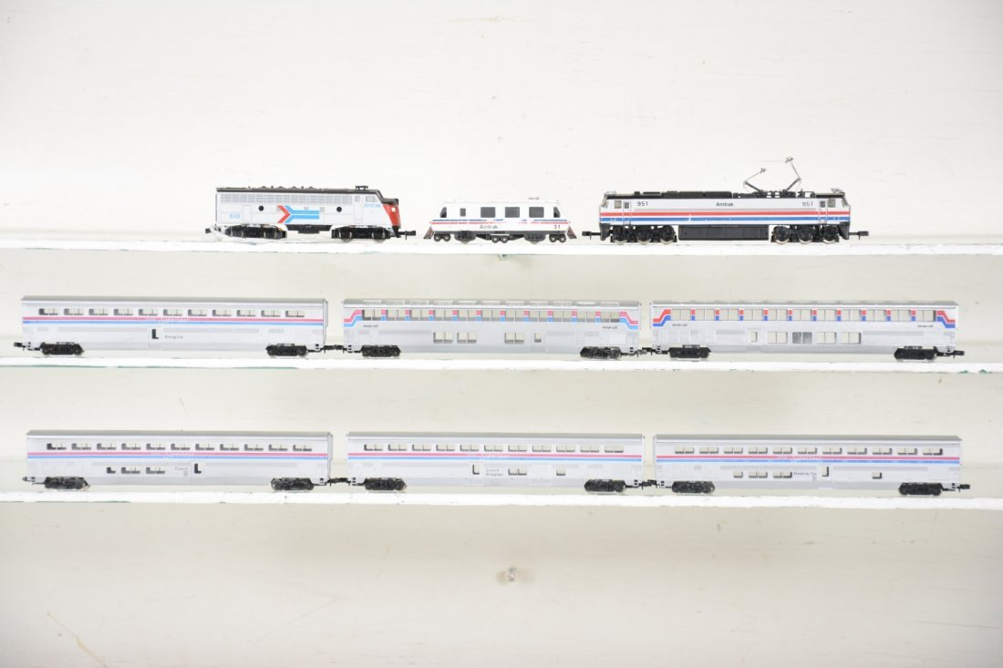 N Gauge Amtrak Lot - 2