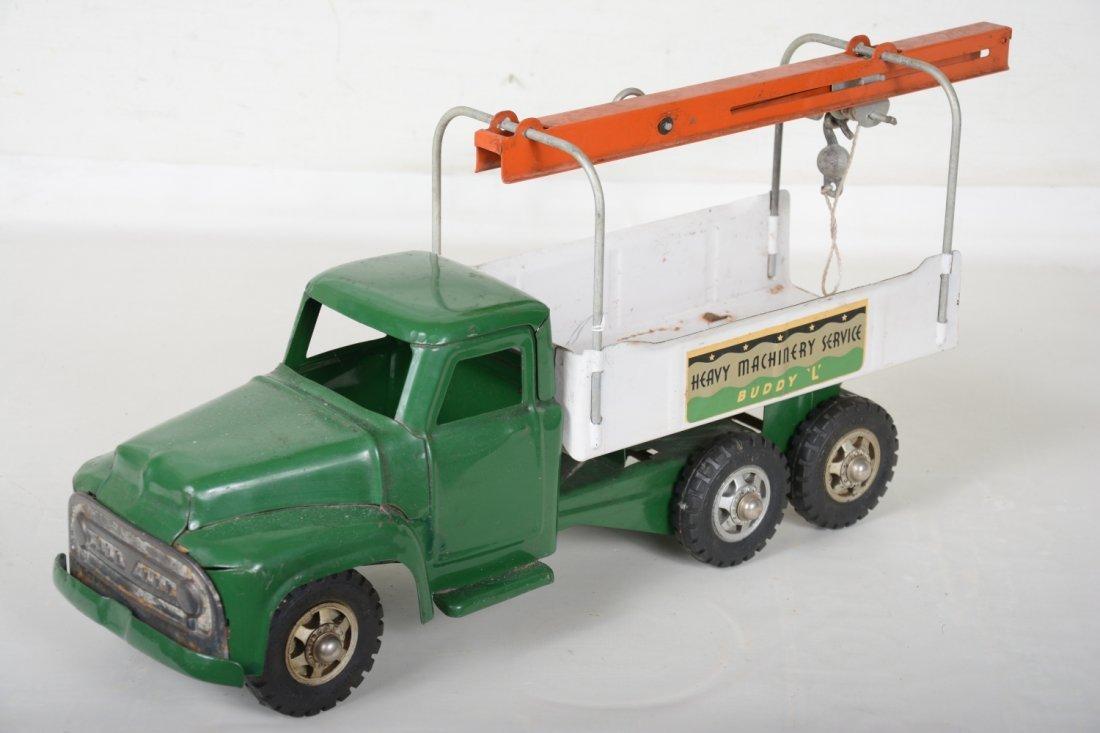 Clean 1958 Buddy L Machinery Hauler