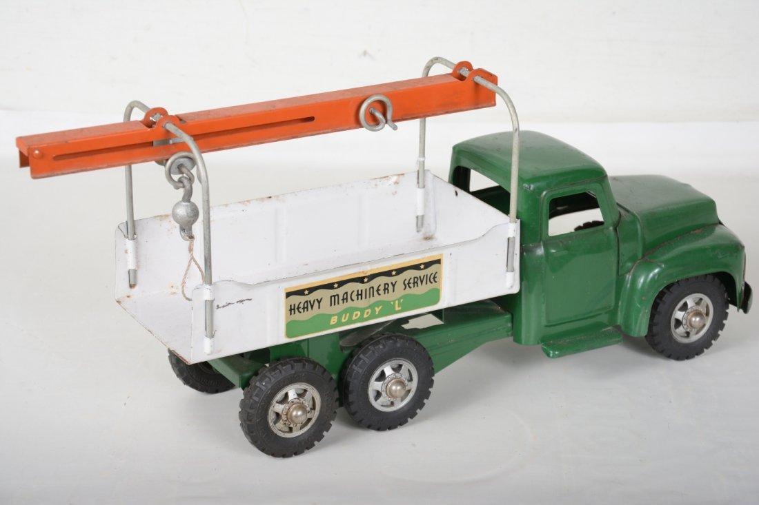 Clean 1958 Buddy L Machinery Hauler - 2