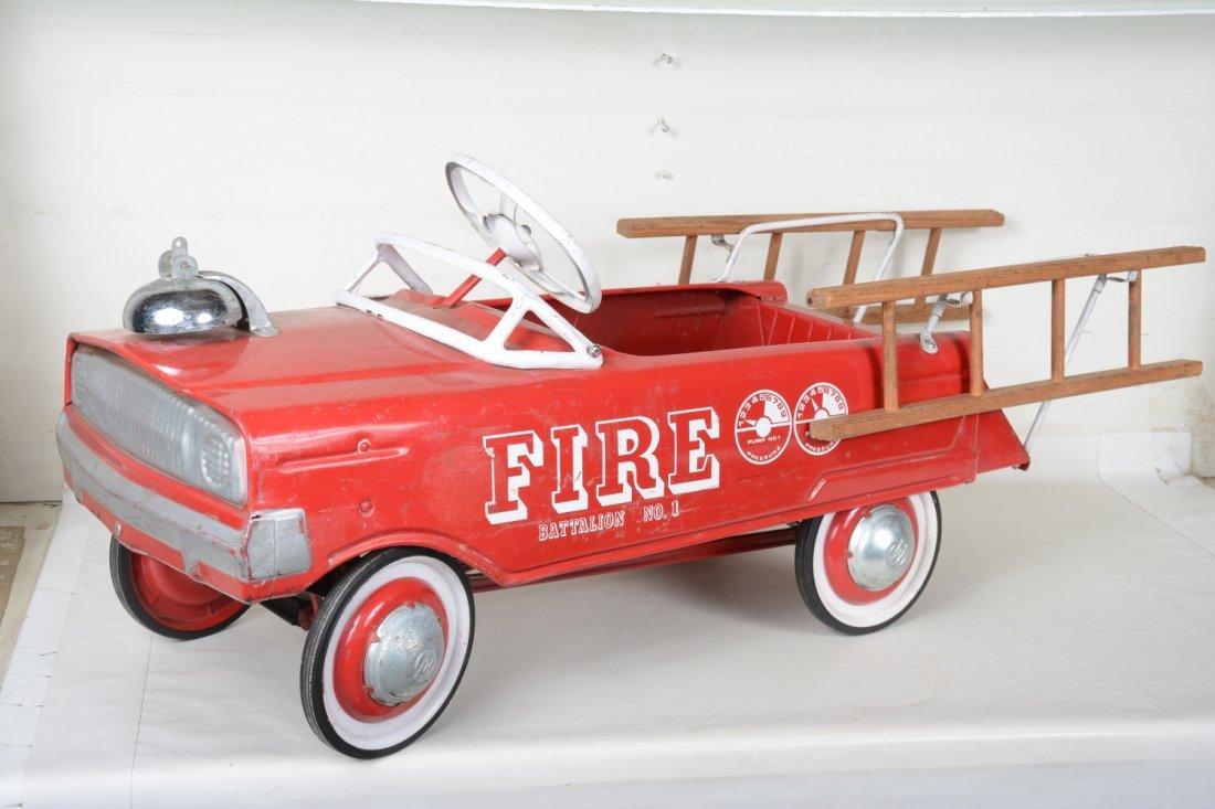 Clean Murry Fire Battalion #1 Fire Peddle Car