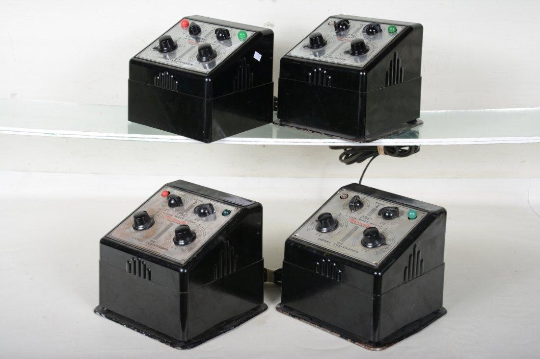 4 Lionel Z 250 Watt Transformes