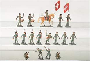 Super Elastolin Swiss Army Soldiers