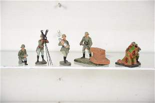 Super Elastolin Mortar Gun Crew