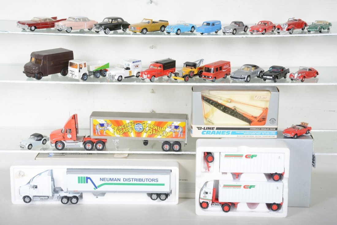 Nice Diecast Layout Vehicles