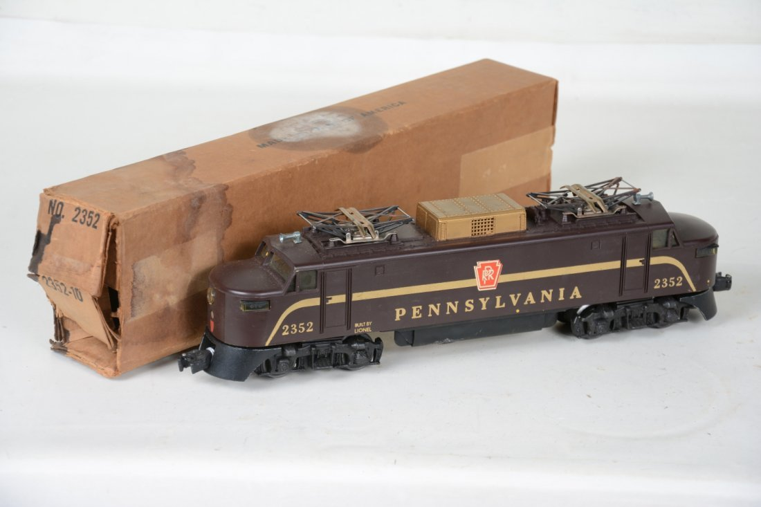 Scarce Boxed Lionel 2352 PRR EP5 Electric
