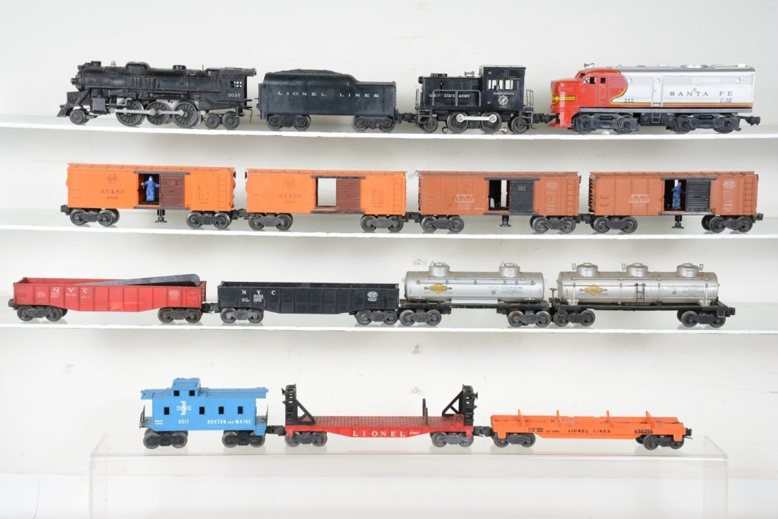 Large Lot Lionel Postwar