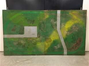 Scarce American Flyer 5 X 9 Factory Layout Board