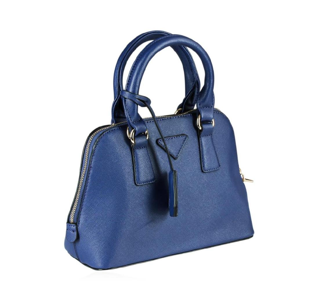 Blue Becca Mini Handbag