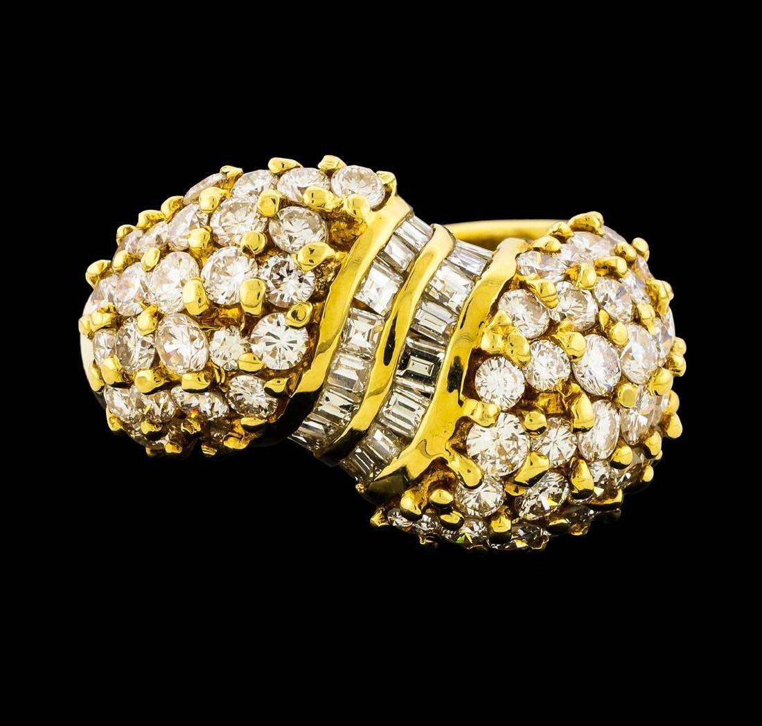 2.82 ctw Diamond Ring - 18KT Yellow Gold - 2