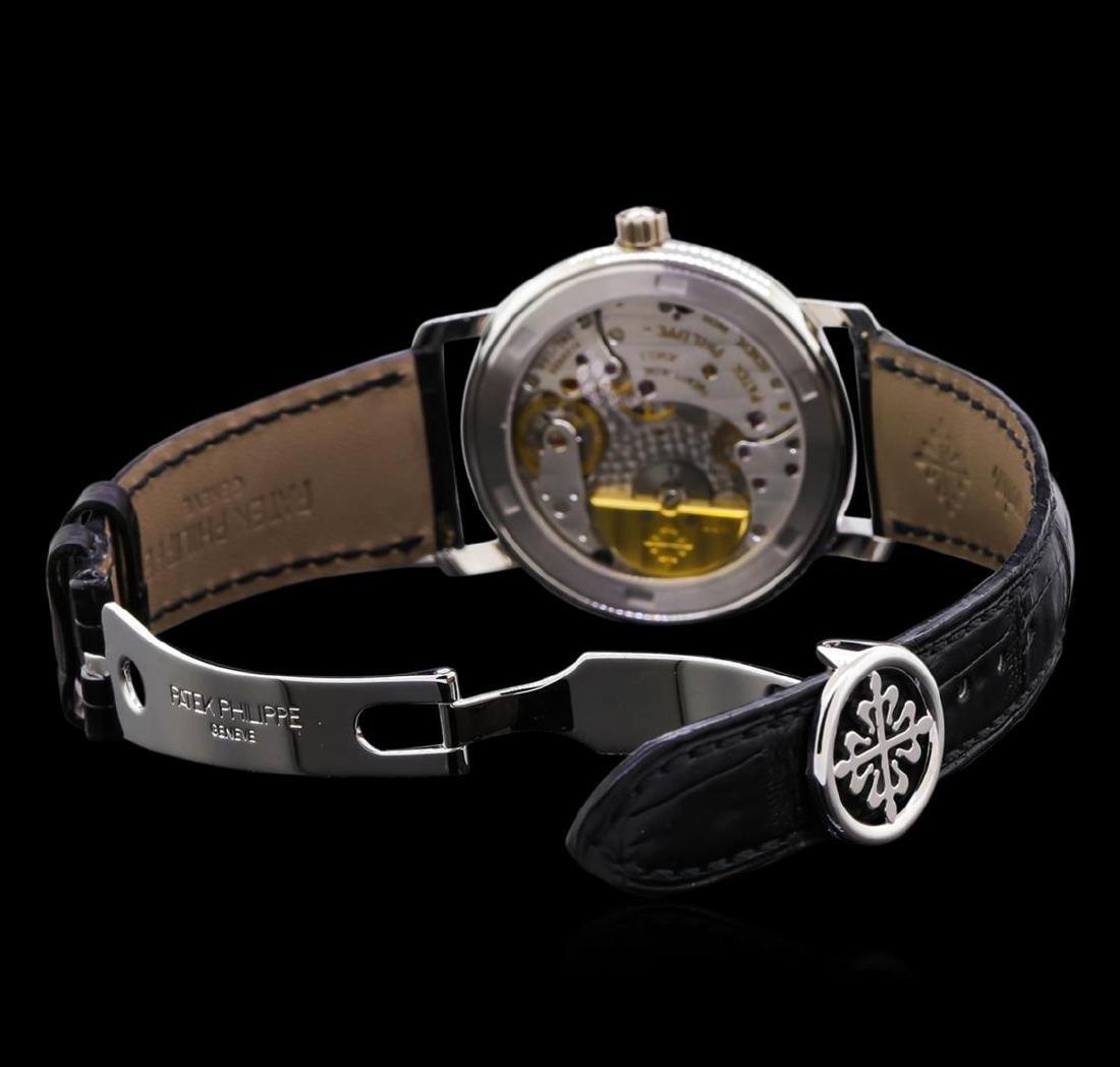 Patek Philippe Moonphase 18KT White Gold Watch - 4
