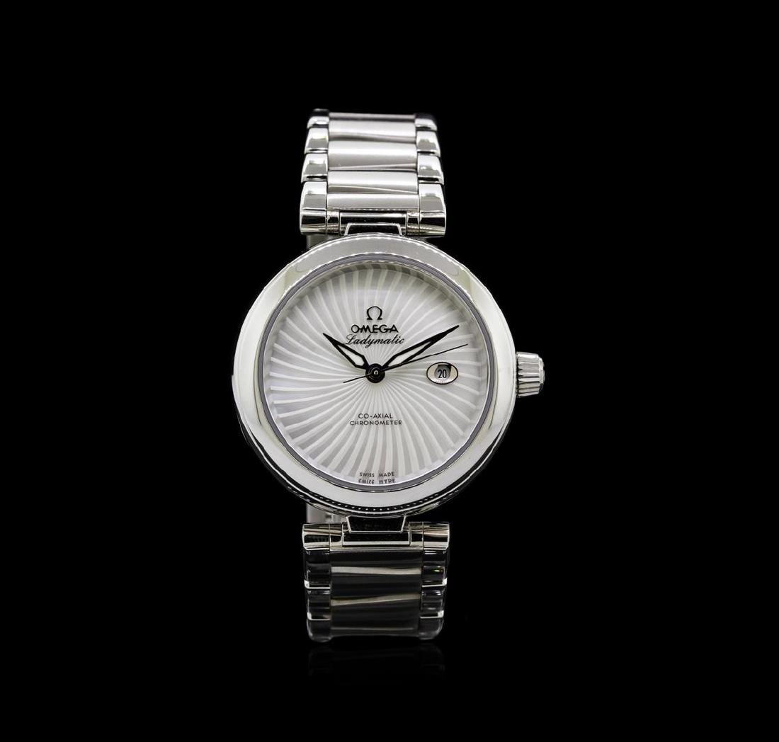 Omega Stainless Steel Deville Co-Axial Ladymatic Watch