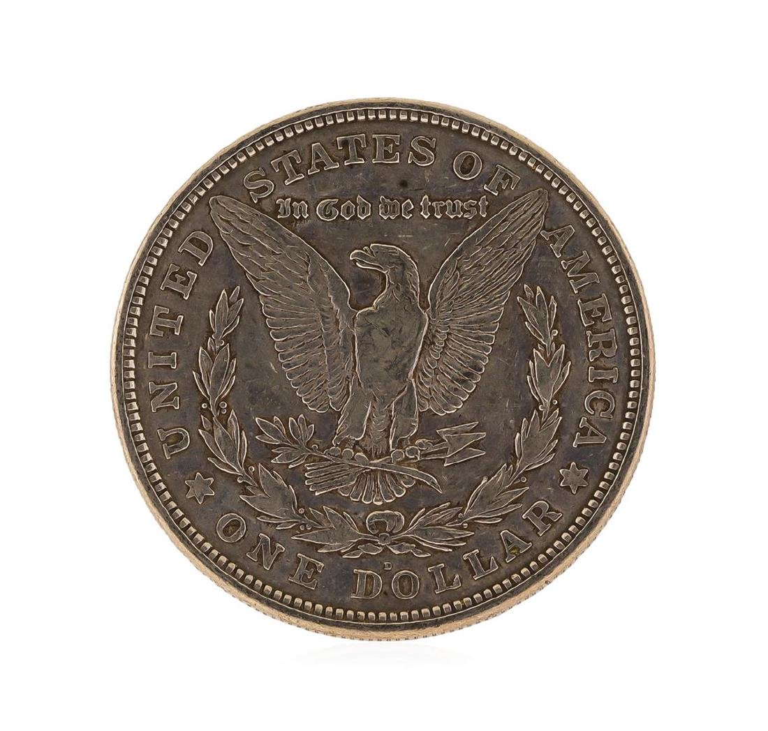 1921-D Morgan Silver Dollar - 2