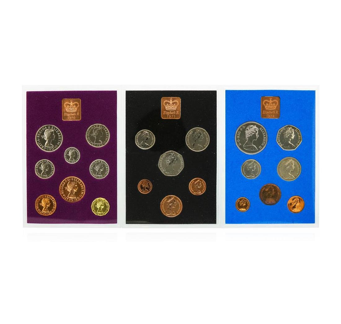 1970-1974 Coinage of Great Britain and Northern Ireland - 2