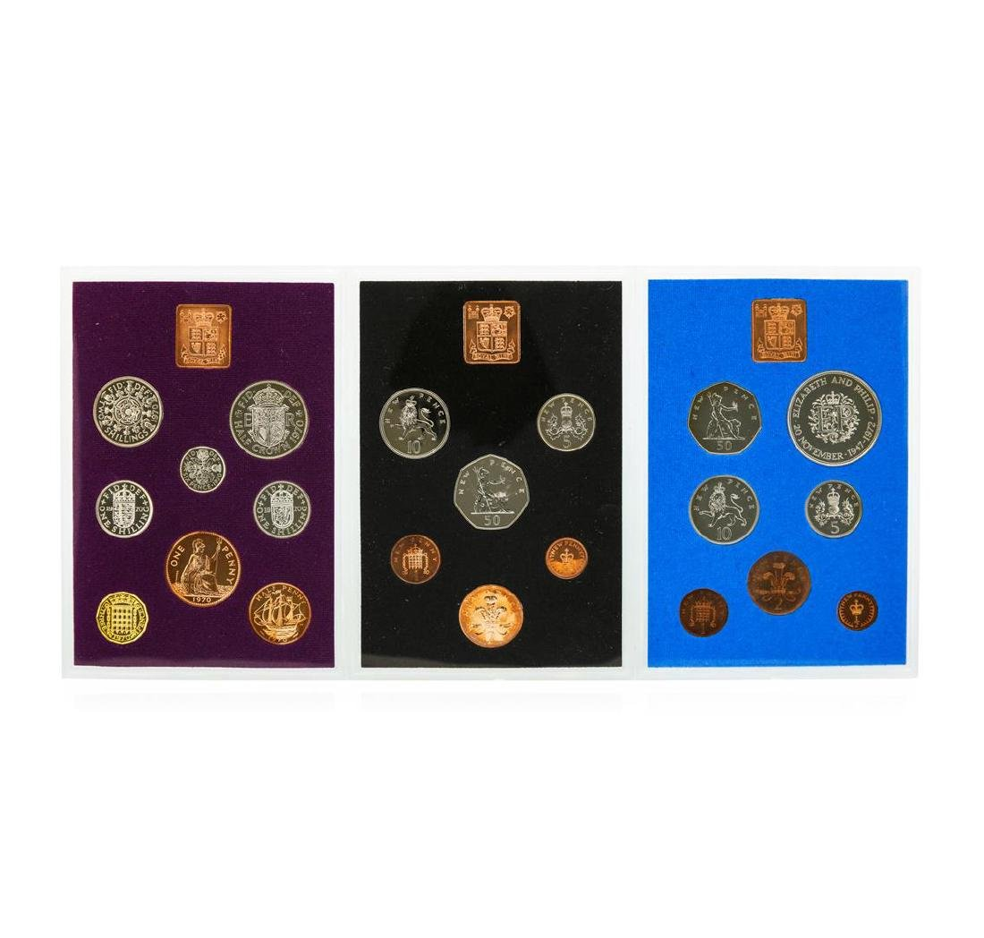 1970-1974 Coinage of Great Britain and Northern Ireland - 3