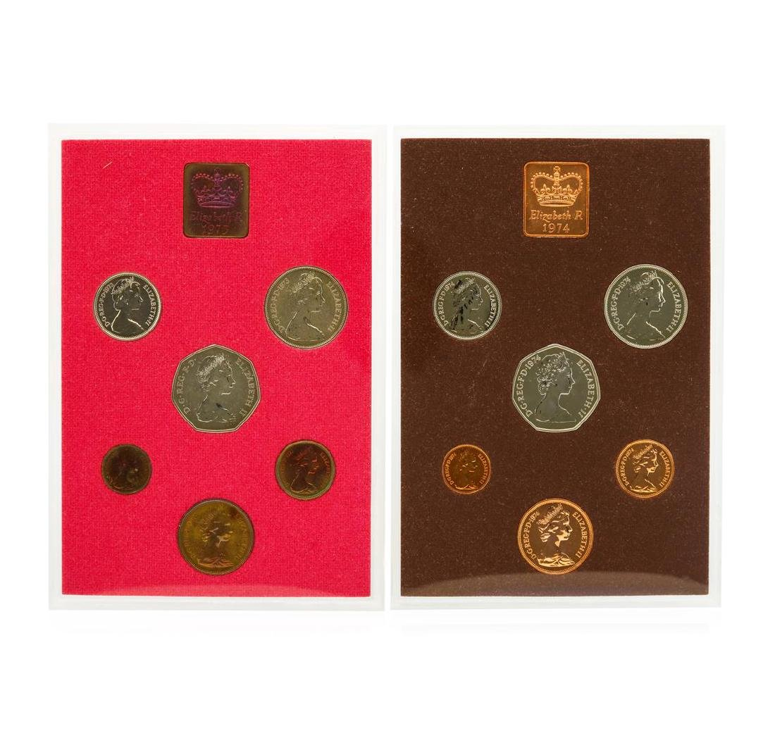 1970-1974 Coinage of Great Britain and Northern Ireland - 4