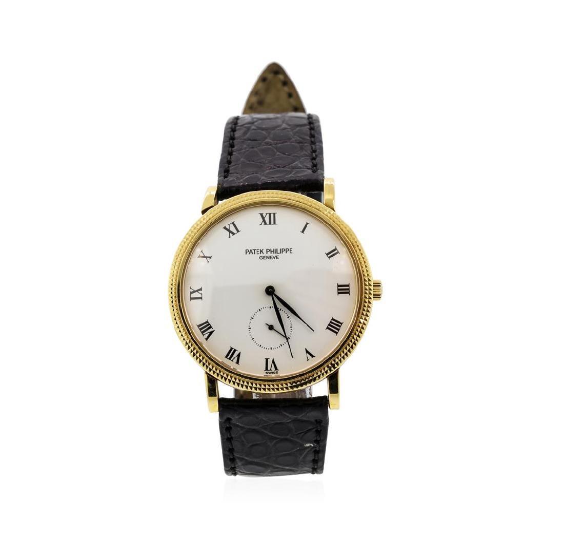 Patek Philippe 18KT Yellow Gold Calatrava Wristwatch