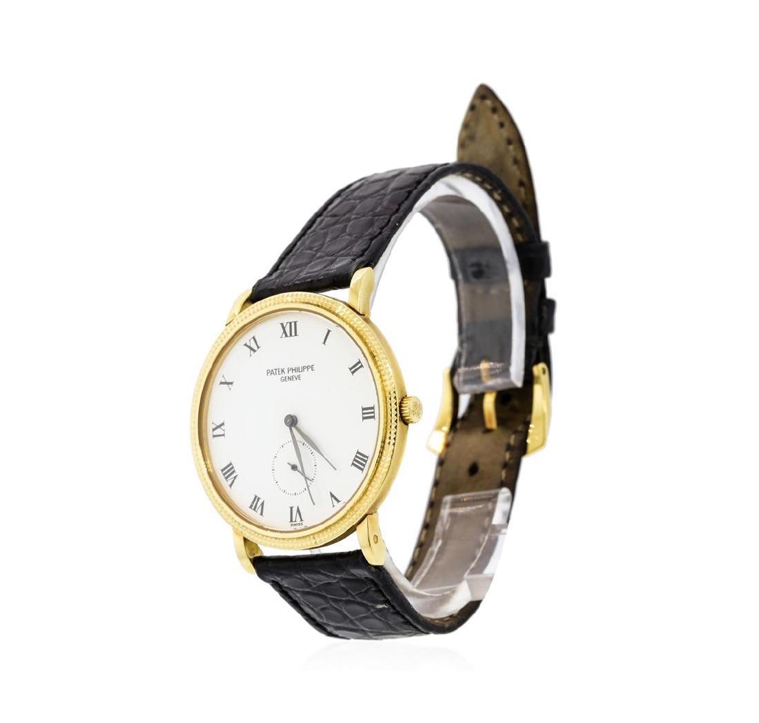 Patek Philippe 18KT Yellow Gold Calatrava Wristwatch - 2