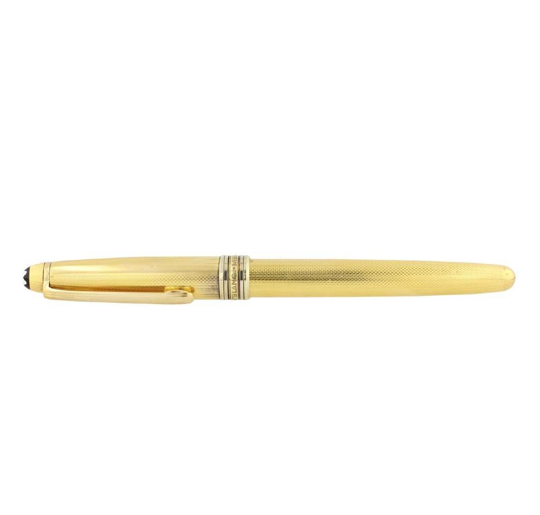 Montblanc Vermeil Barley Rollerball Pen