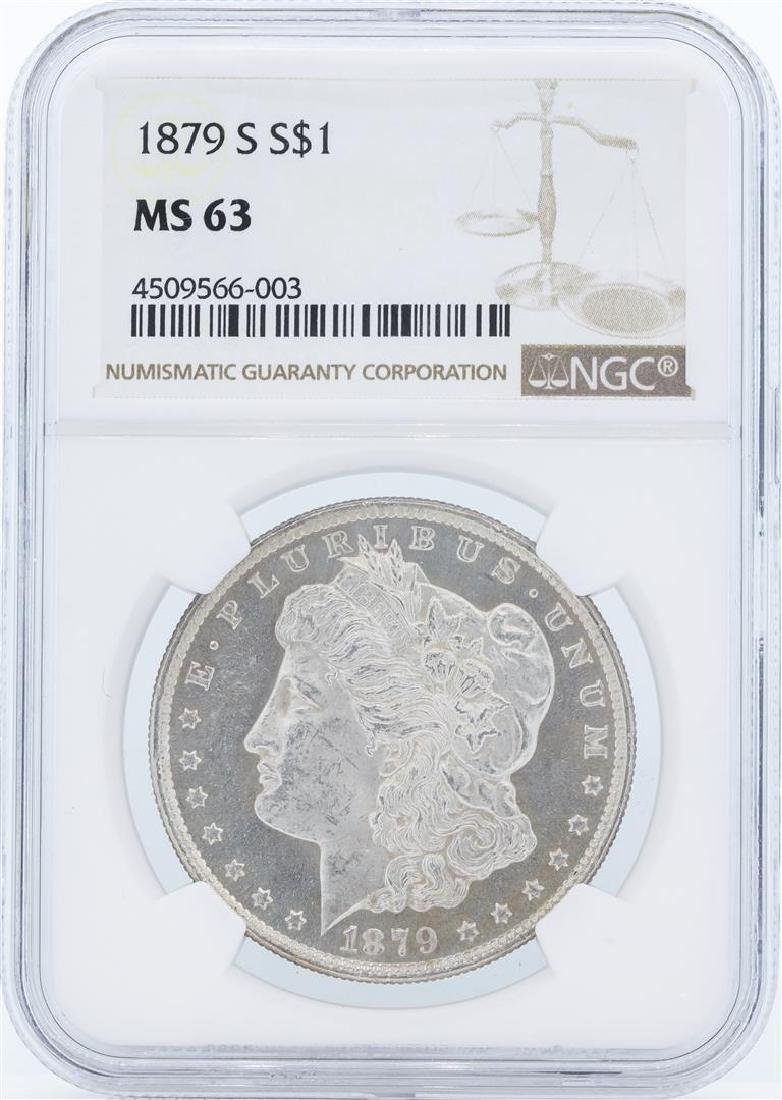 1879-S MS63 NGC Morgan Silver Dollar