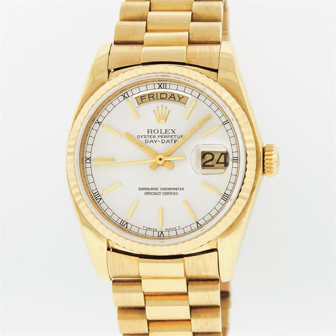 Rolex 18KT Yellow Gold President DayDate Men's
