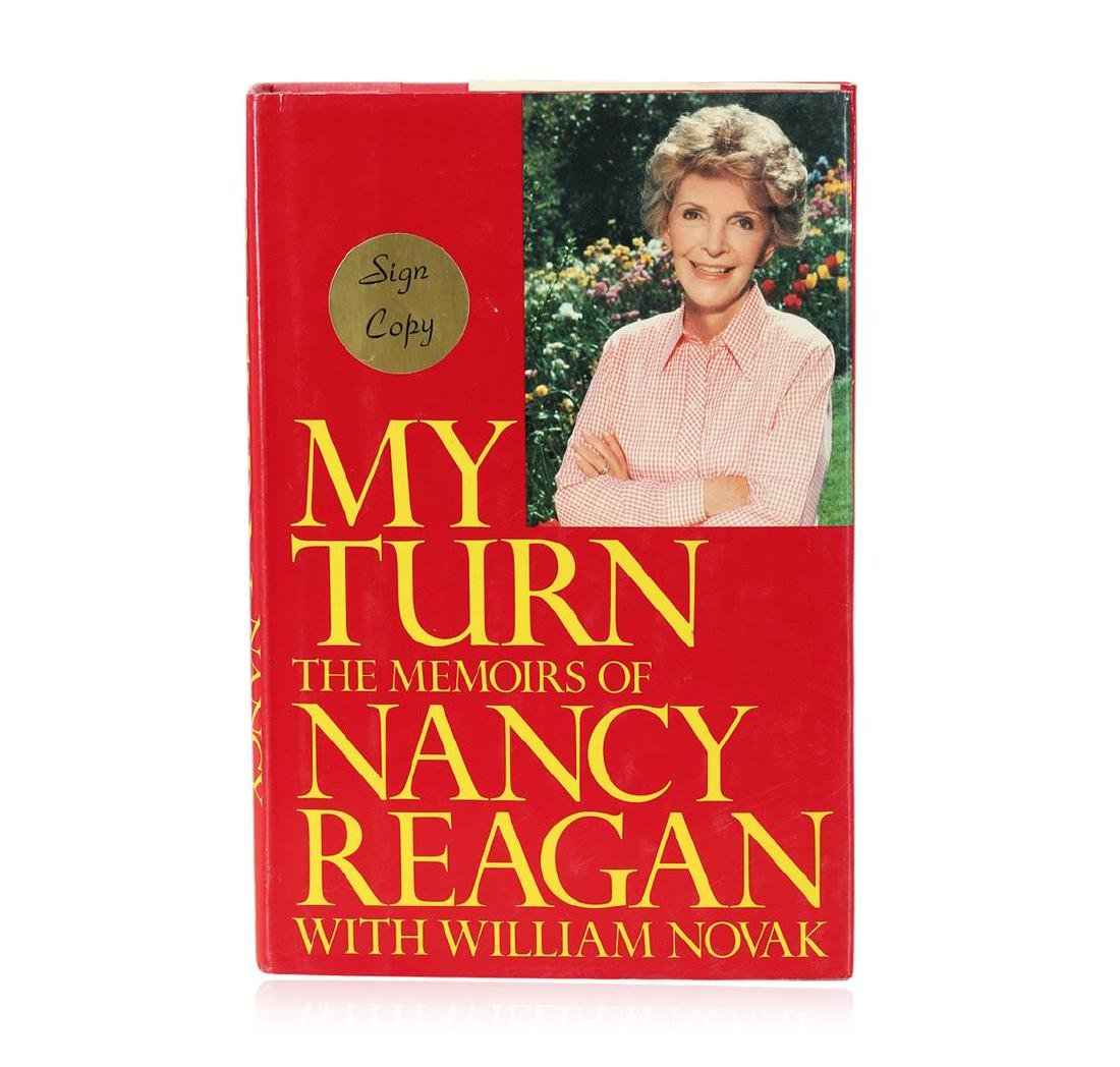 Signed Copy of My Turn: The Memoirs of Nancy Reagan by