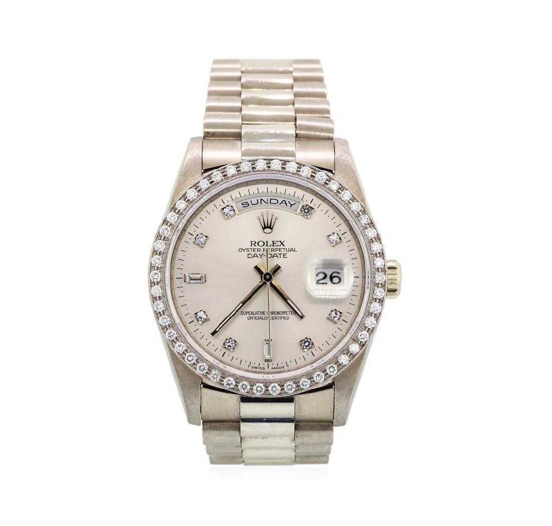 Gents Rolex 18KT White Gold President Daydate Watch