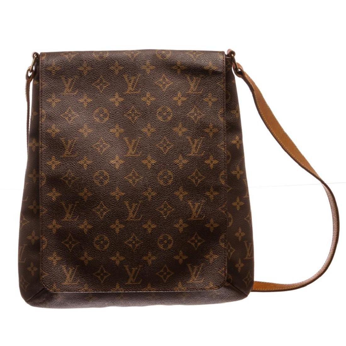 Louis Vuitton Monogram Canvas Leather Salsa GM Bag